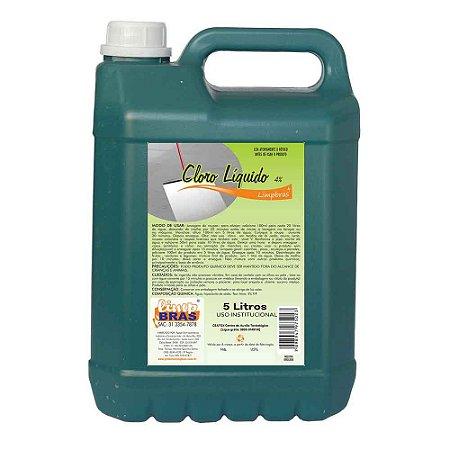 Cloro Líquido 4% - 5L - Limpbras