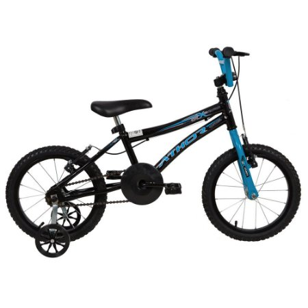 Bicicleta Aro 20 ATX Preta e Azul  - Athor