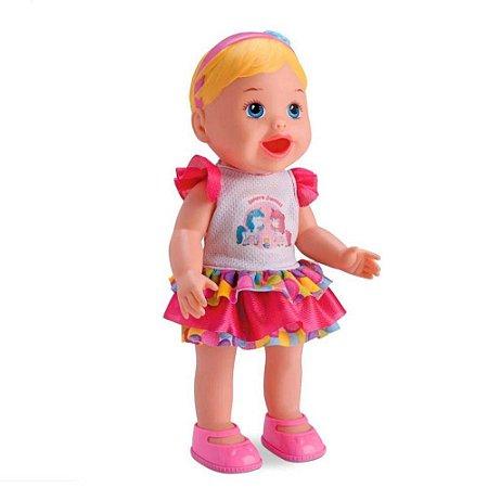 Boneca My Little Collection Come E Faz Caquinha Diver Toys
