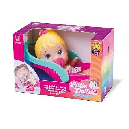 Boneca Little Dolls Conforto 681 - Divertoys