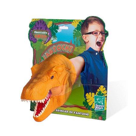Dino Fantoche Dinossauro Amigo - 341 - Supertoys