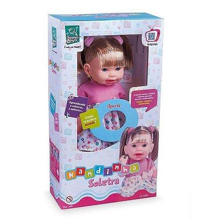 Boneca Nandinha Soletrando 365 - Super Toys