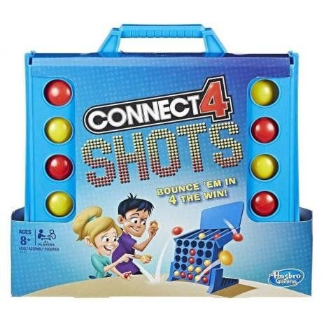 Jogo Connect 4 Shots E3578- Hasbro