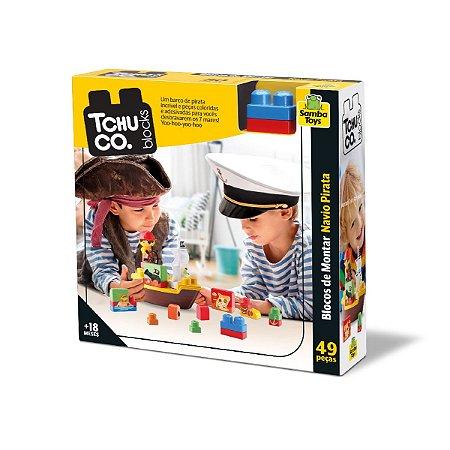 Tchuco Blocks Navio Pirata 247 - Samba Toys
