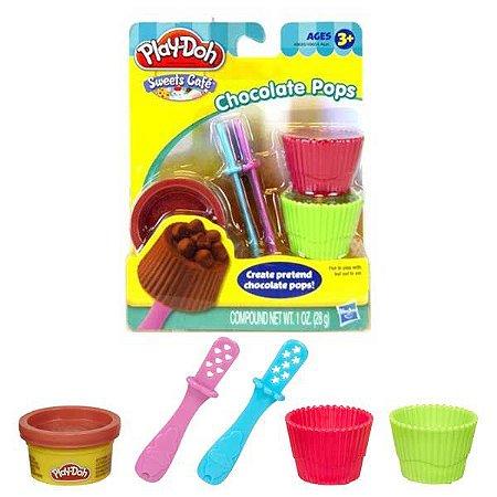 Play Doh Mini Kit Ferram Sweet Shoppe - Chocolate Pops 49654 - Hasbro