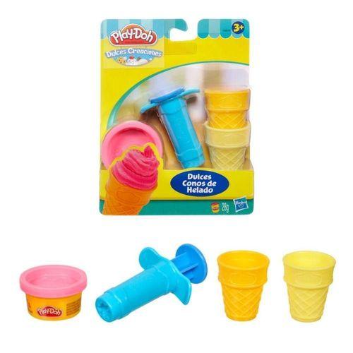 Play Doh Mini Kit Ferram Sweet Shoppe - Sorvete 49654 - Hasbro