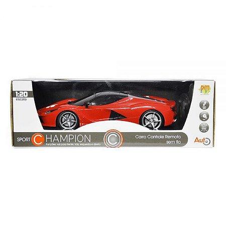 Carro Controle Remoto Sem Fio 1:20 Sport DMT5054 - DM Toys