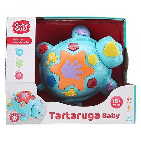 Tartaruga Bate e Volta Baby DMB5788 - DM Toys