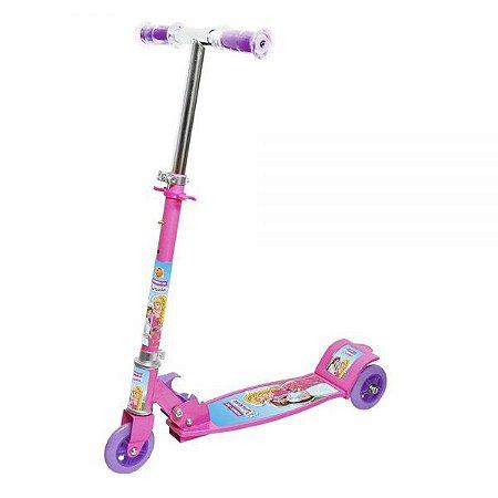 Patinete New Top 03 Rodas DMR5667 - Rosa - DM Toys