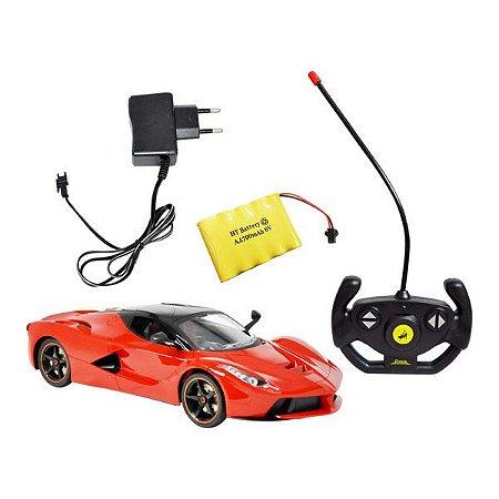 Carro controle remoto sem fio 1:14 Sport Recarregável DMT4327 - DM Toys