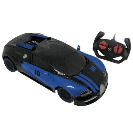 Carro de Controle Remoto Evil Ghost 7 Funções - Azul 3571 - Candide
