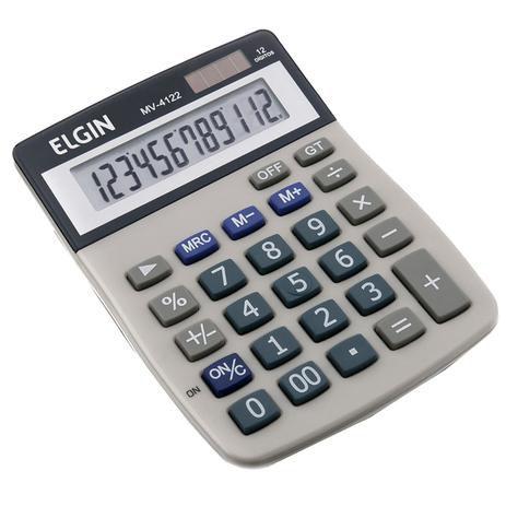 Calculadora De Mesa MV-4122 - Elgin