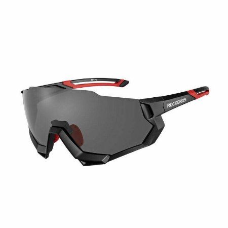 Óculos de Ciclismo Bike Polarizado 5 Lentes - RockBros