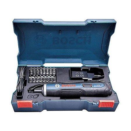 Parafusadeira Reta Go 3,6 V Bivolt com Kit  - BOSCH