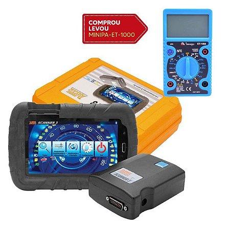 Scanner Automotivo Raven 3 com Tablet de 7 Pol. e Maleta - RAVEN-108800