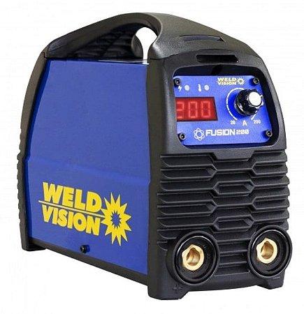 Máquina de Solda Fusion 200A Bivolt - WELD VISION