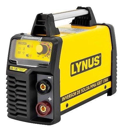 Máquina de Solda Inversora Portátil 130A 220V - LYNUS-LIS-130