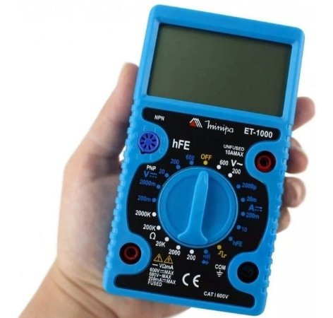 Multímetro Digital - MINIPA-ET-1000