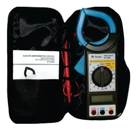 Alicate Amperímetro Digital - MINIPA-ET-3200