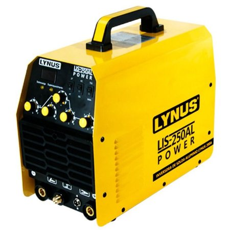 Máquina de Solda Inversora Alumínio Power 200A - LYNUS-LIS-250AL