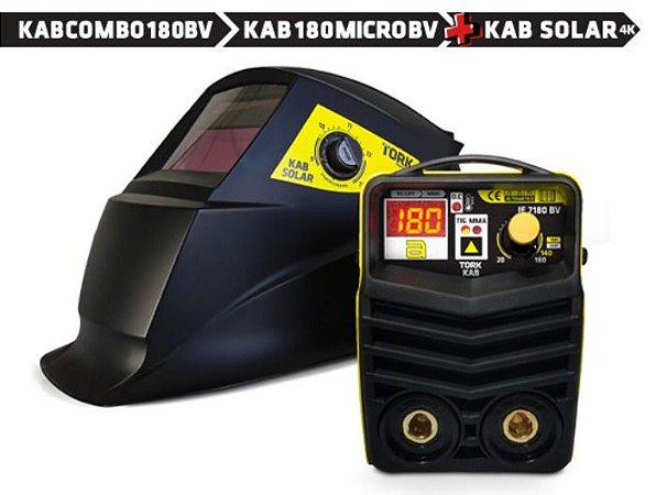 Máquina de Solda Inversora KAB Combo 180 BV - SUPER TORK-CIM-7180-BV