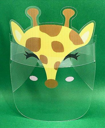 Protetor Facial Infantil - Girafa