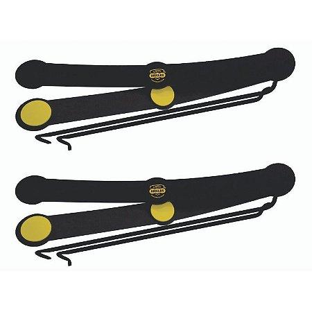 Protetor De Portas P/ Carros Shields Long Kit c/4