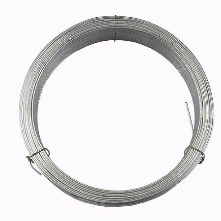 Arame Galvanizado - Fio BWG 12 (2,77mm) / 1kg (21mt)