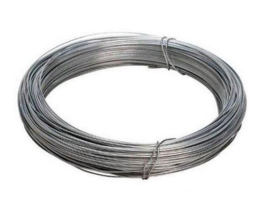 Arame Galvanizado - Fio BWG 10 (3,40mm) / 1kg (14m)