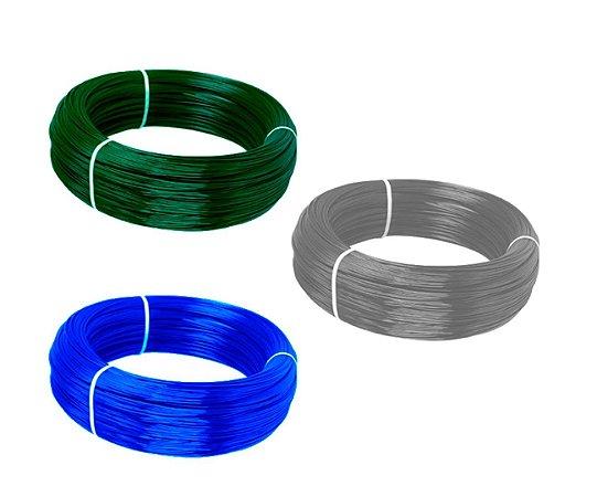 Arame Com Revestimento em PVC - Fio BWG 12 (3,80mm) / 1kg (18m)