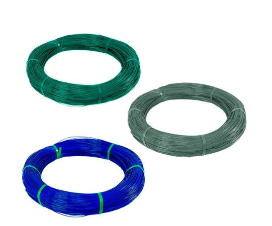 Arame Com Revestimento em PVC - Fio BWG 14 (2,80mm) / 1kg (28m)
