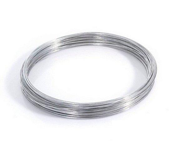 Arame Galvanizado - Fio BWG 18 (1,24 mm) / 1kg (105 mt)