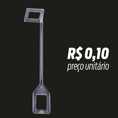 Pino Interligador Quadrado Transparente pacote c/ 500pçs
