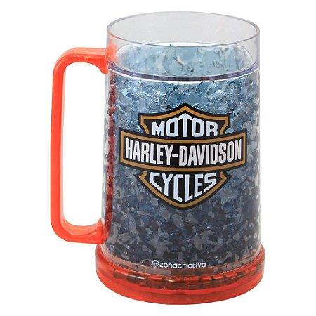 Caneca Congelável Harley Davidson - Chopp