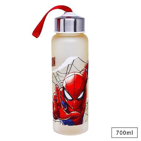 Garrafa Com Alça Homem Aranha Vingadores