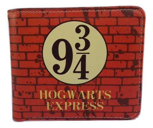 Carteira Porta Cédulas Harry Potter 9 3/4