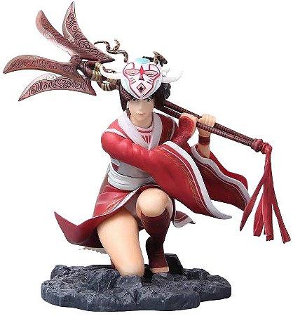 Action Figures Akali Akari Blood Moon Skin 18 Cm - Na Caixa