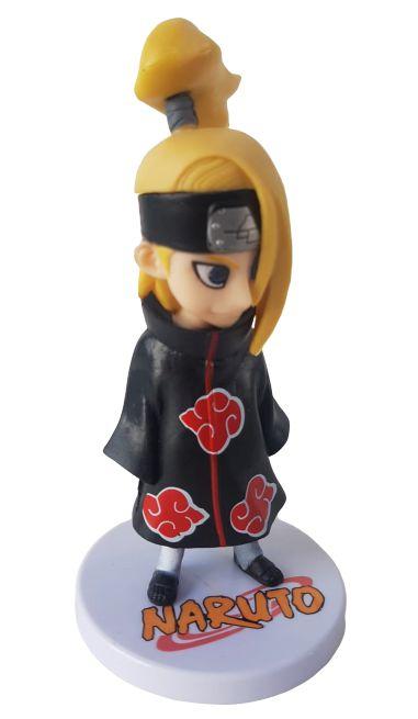Action Figure Deidara Akatsuki Naruto Shippuden - 13 cm