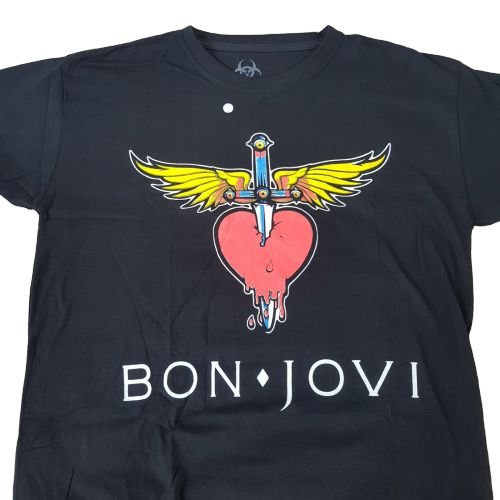 Camiseta Banda Bon Jovi Rock
