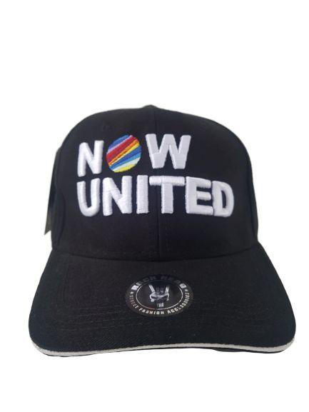 Boné Now United Preto Aba Curva