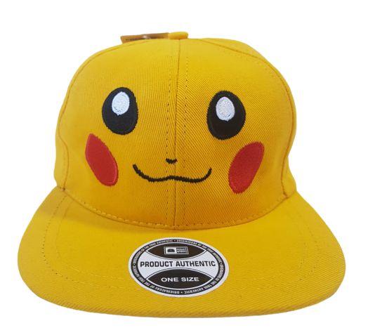Boné Pikachu Pokemon Aba Reta