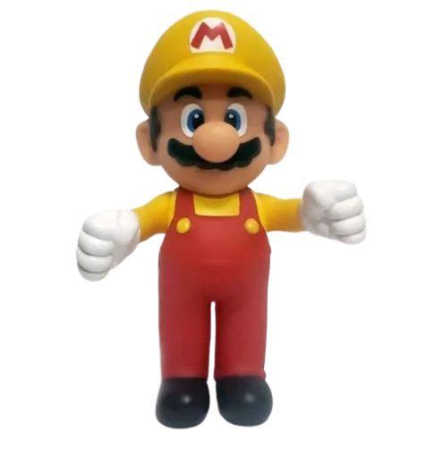 Boneco Super Mario Maker Amarelo