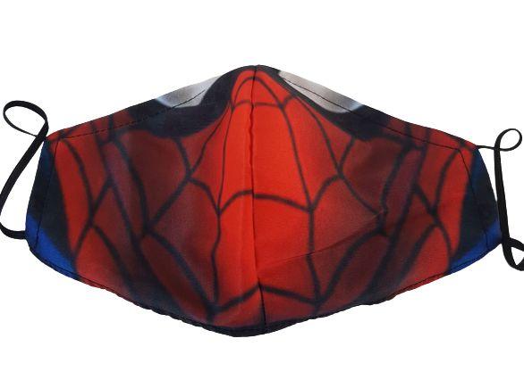 Máscara de Tecido Lavável Homem Aranha Marvel Vingadores
