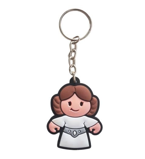 Chaveiro Star Wars Princesa Leia Organa