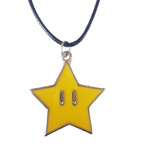 Colar Super Mario Estrela
