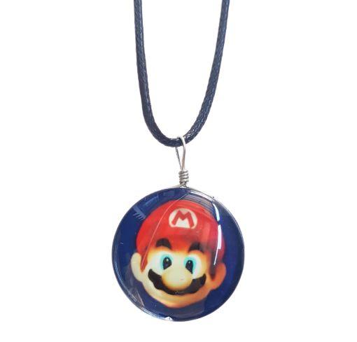 Colar Super Mario Vidro