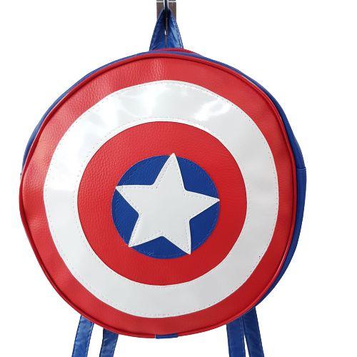 Mochila Escudo Capitão América Vingadores
