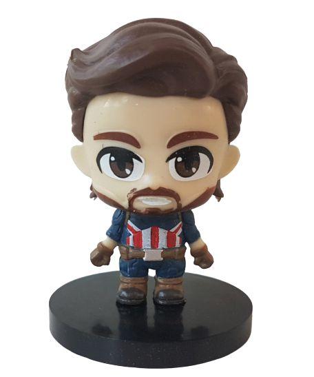 Mini Nendoroid Capitão América Vingadores