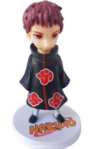 Action Figure Sasori Akatsuki Naruto Shippuden - 13 cm