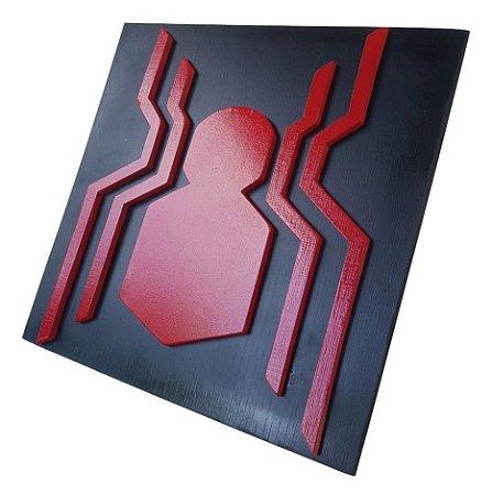 Quadro decorativo 3D Homem Aranha MDF